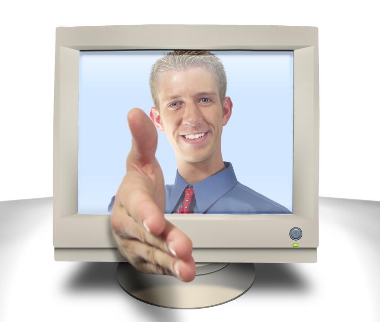 mężczyzna z komputera - B2B
