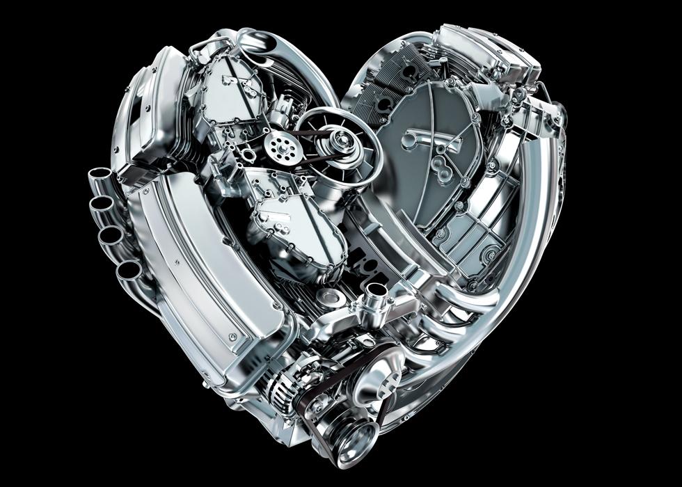 serce jak silnik