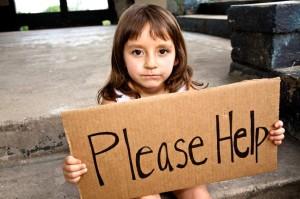 bieda dotyka dzieci