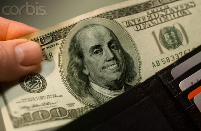dolar z podobizną Benjamina Franklina