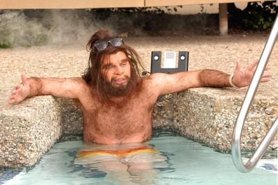 brodacz w kąpieli
