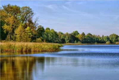 jezioro bartąg koło olsztyna