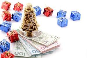 pieniądze na święta